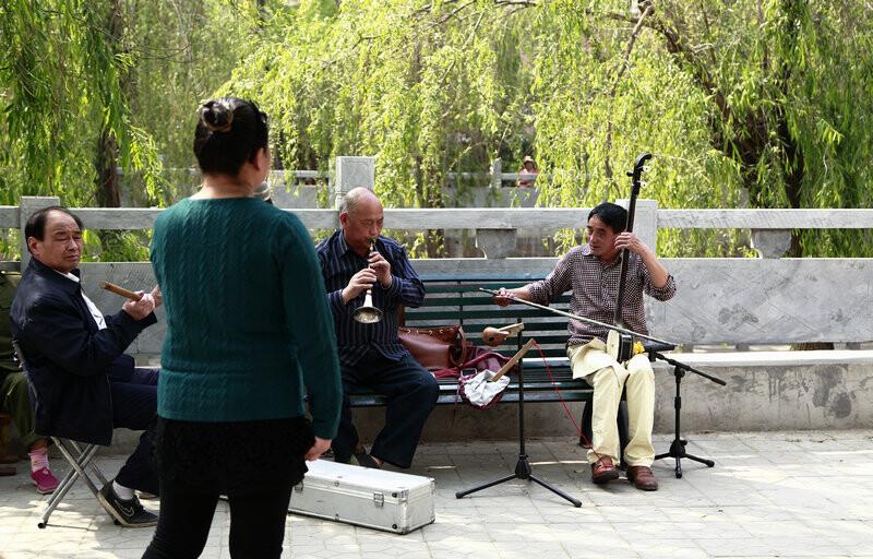 河南坠子-唱三国 - 街拍中国四月赛, 人文, 纪实
