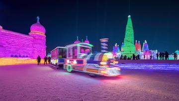 哈尔滨冰雪大世界景观