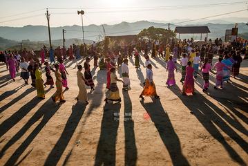 拉祜族的春节