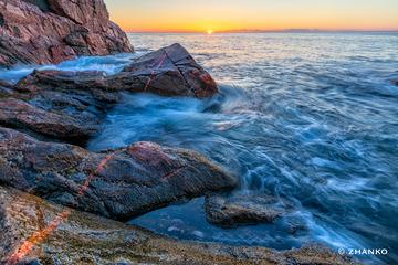 海平面日出