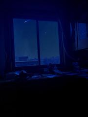 那晚流星飘过