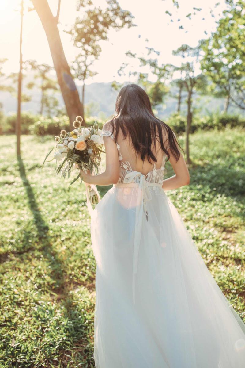 婚纱照单人_婚纱照单人女