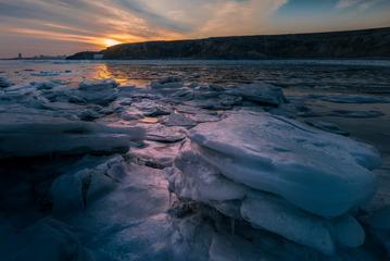 冰块-锦州湾