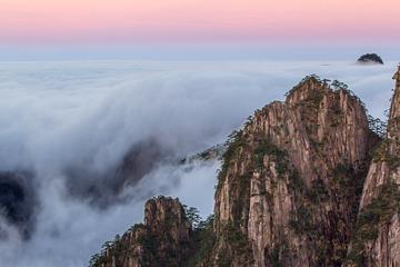 黄山瀑布云