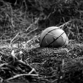 被遗弃的篮球