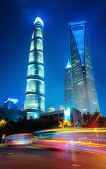 上海街头.