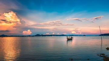 安达曼海的晚霞