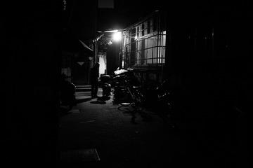黑白老城区