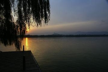 颐和园落日2