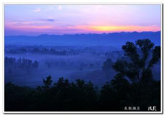 75乡村之晨 ---長靓灏月  摄影 (1)