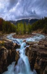 落基山辛华达瀑布Sunwapta Falls, Canadian Rockies