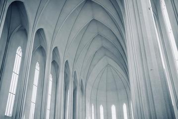 教堂的线条