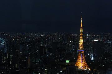 六本木俯瞰东京塔
