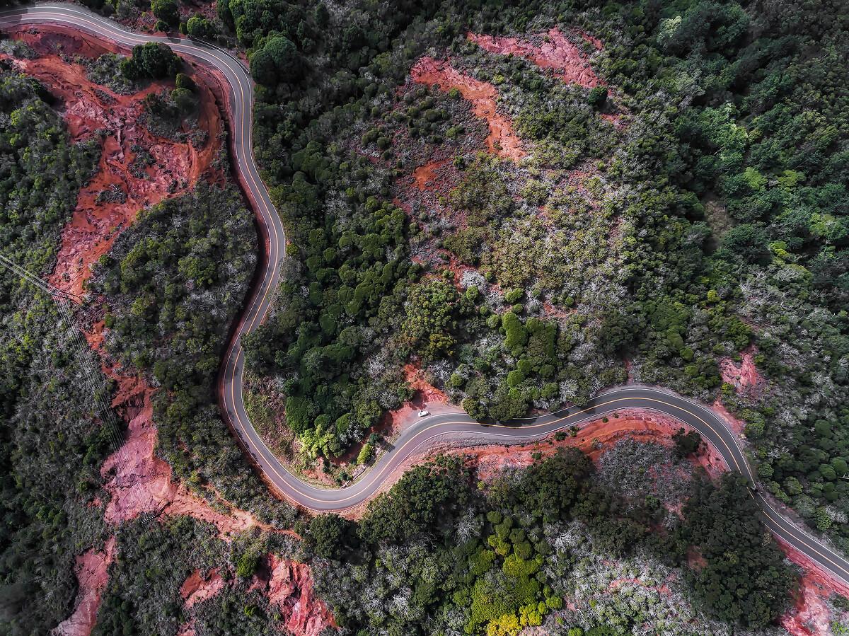 蜿蜒 - 摄于美国夏威夷