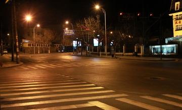 大学路和莱阳路的交界口