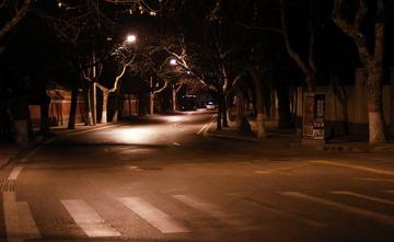 大学路夜景
