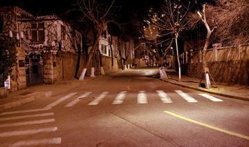 莱芜二路与大学路交界口