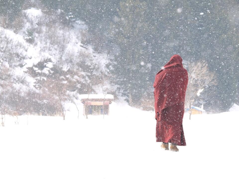 雪裡送福音<br />