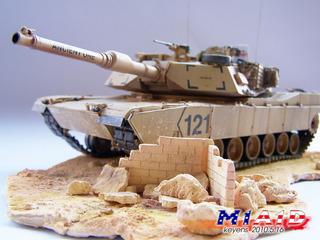 M1A1D 坦克与场景