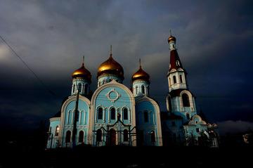 自驾俄罗斯---赤塔教堂