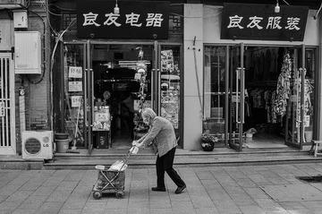 北京胡同~老人