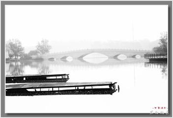 黑白北京---码头