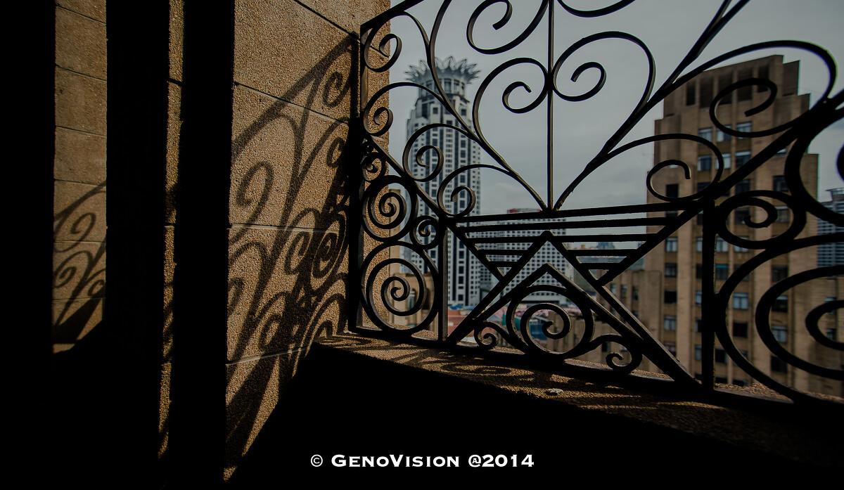 锈蚀和影子 Corrosion & shadow