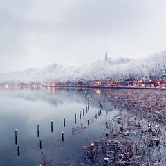冬天的西湖