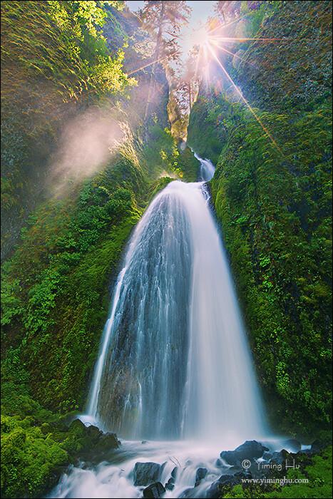 最美的瀑布