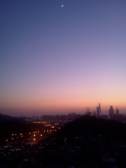 夕陽西下~斷腸人在天涯~<br />