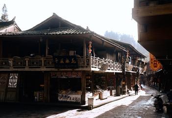 上里古镇老街