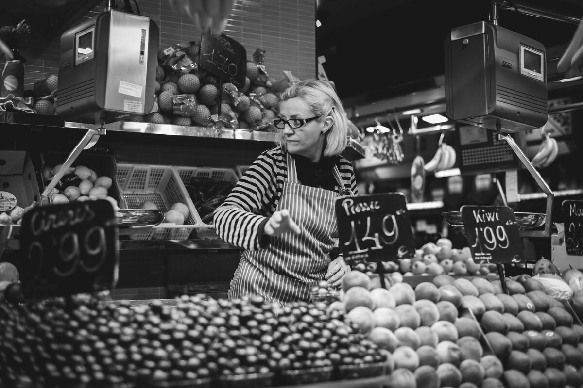 """""""欧洲最大的菜市场""""博克里亚市场<br /> @Mercat de la Boqueria, La Rambla"""
