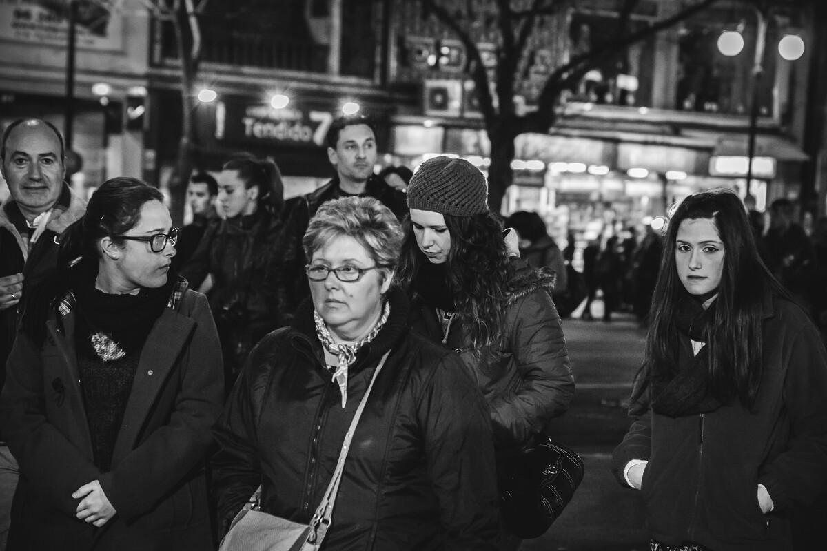 3月末的夜晚,瓦伦西亚人头攒动。<br /> @València