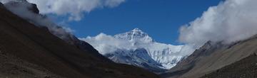 珠穆朗玛峰全景
