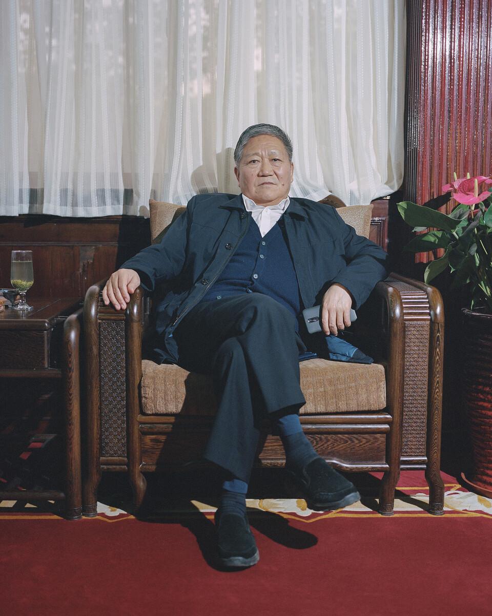 4. 2018年11月14日,南街村,村委书记王宏斌。