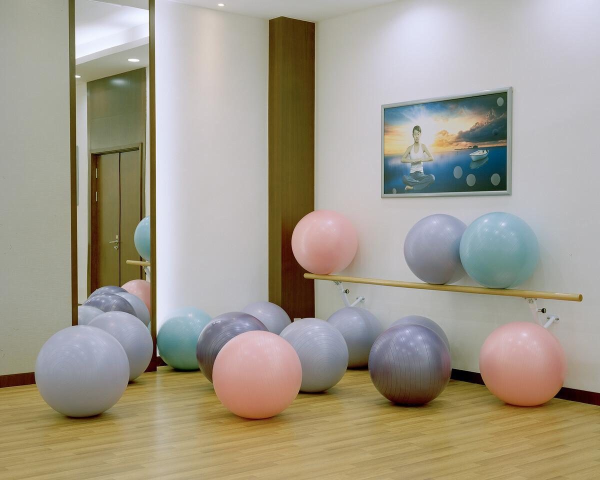 12. 2019年5月23日,华西村,文体活动中心健身房。