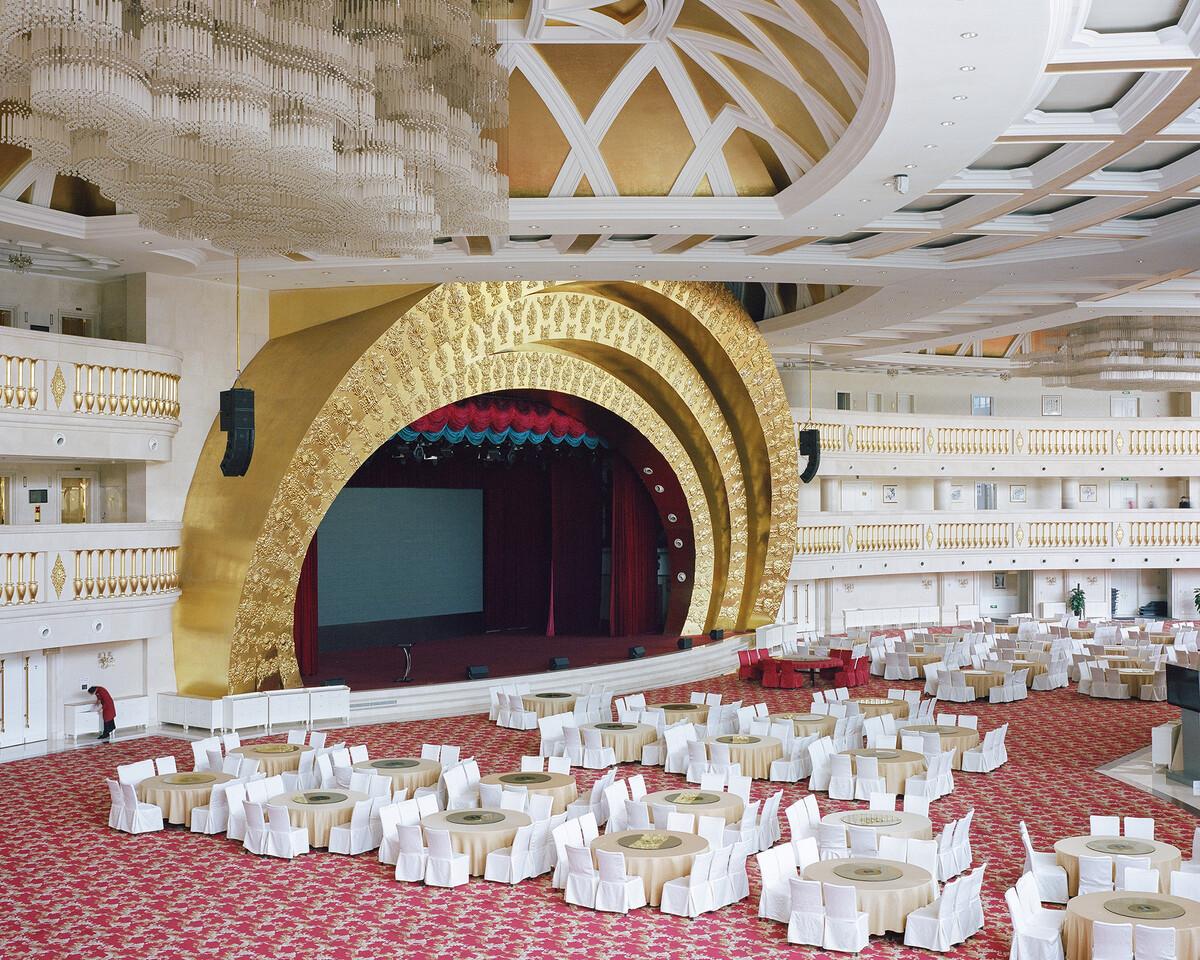 3.  2018年3月9日,华西村,龙希国际大酒店宴会厅。