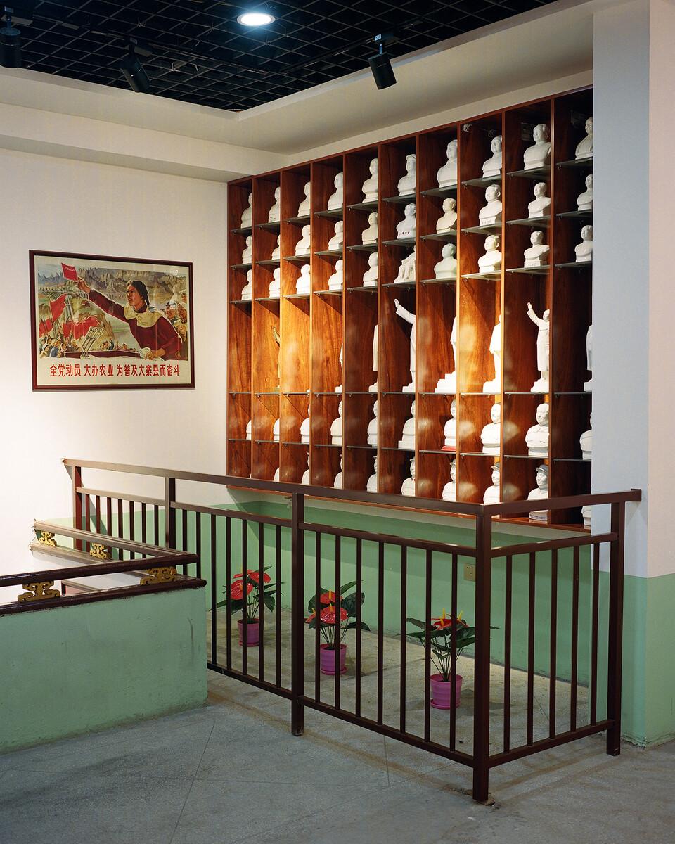 29. 2018年11月7日,大寨村,红色博物馆一角。
