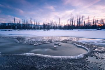 冰冻的河流