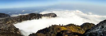 峨眉山上看云