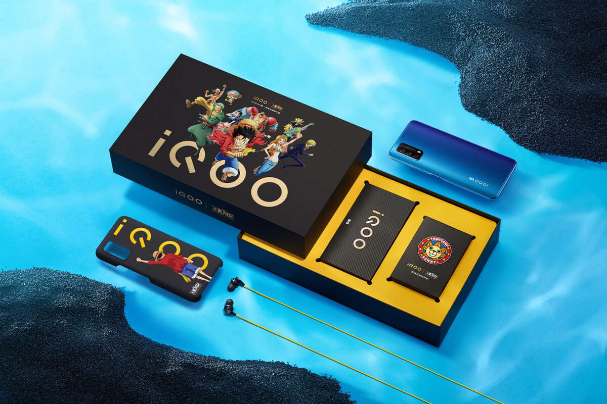 iQOO Z1x 5G流畅先锋燃爆今夏,航海王定制礼盒7月22日开抢