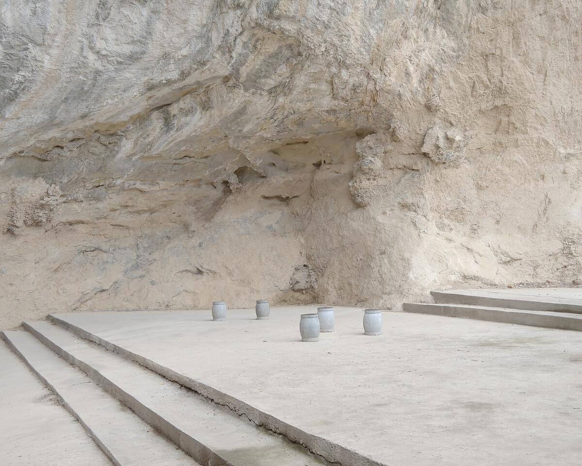 2015年9月 河南洛阳 石凳