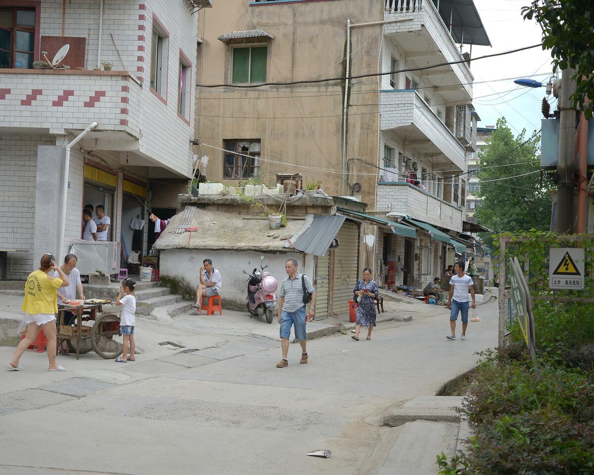 2019年7月 贵州铜仁 早上的街头