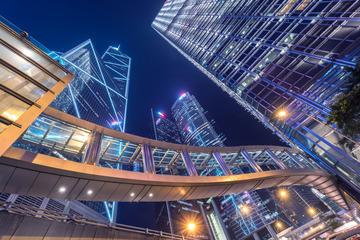香港中环之夜