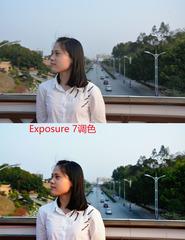 Exposure 7调色