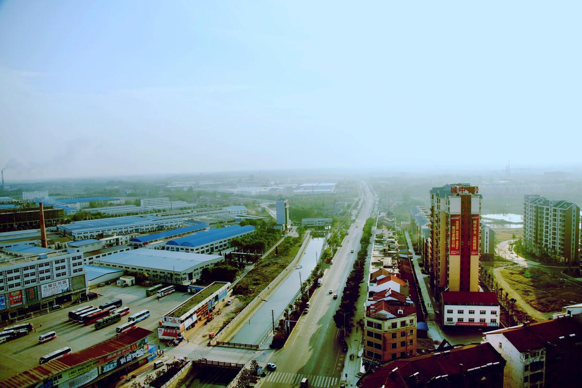 沙洋开发区汉宜大道