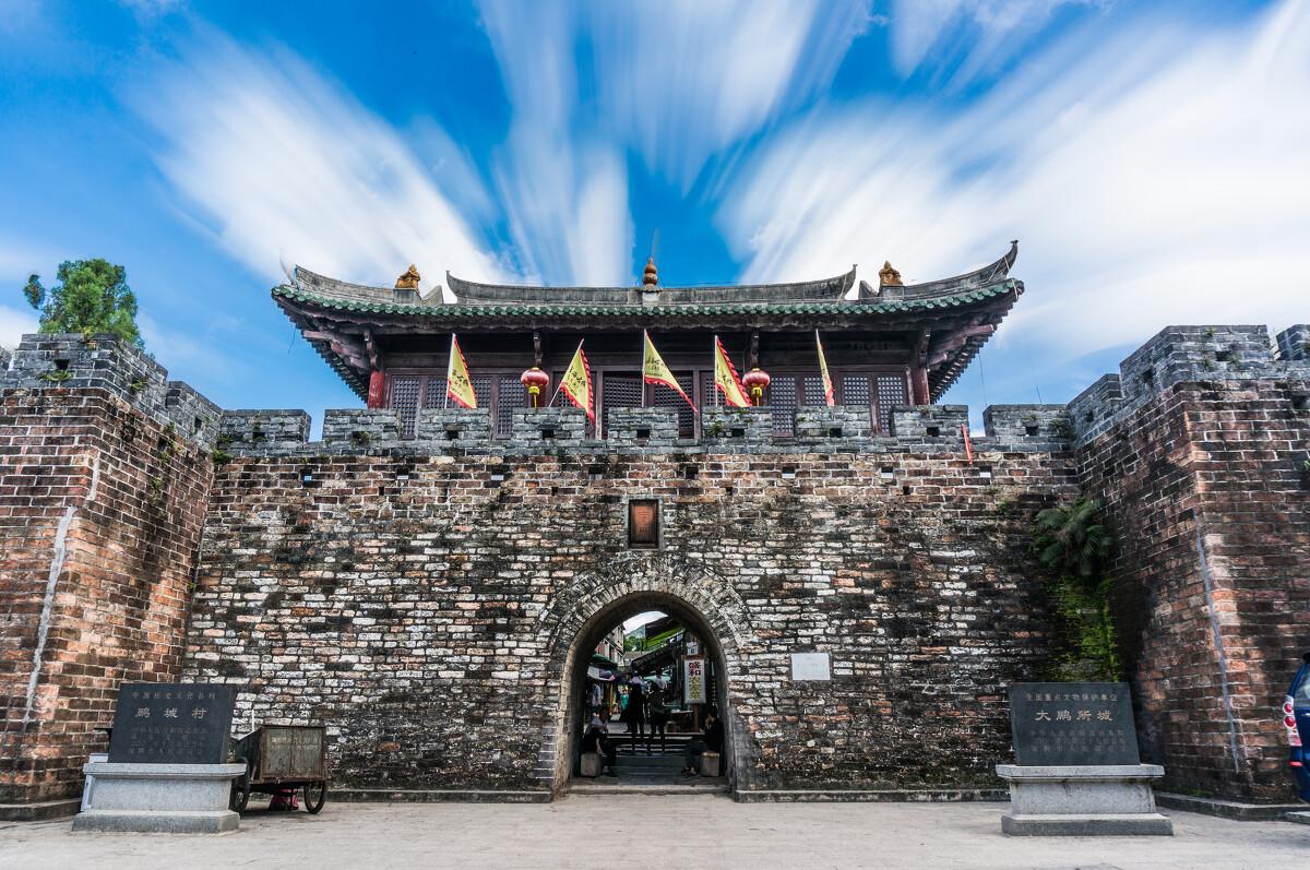 深圳有大鹏所城这样的古城图片