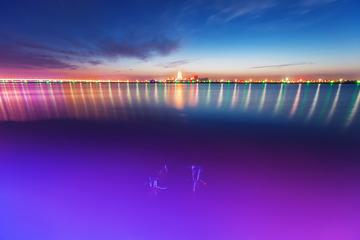 黄河楼之夜