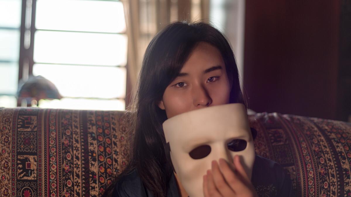 面具 - 尼康, 人像, 色彩 - 淡然一世