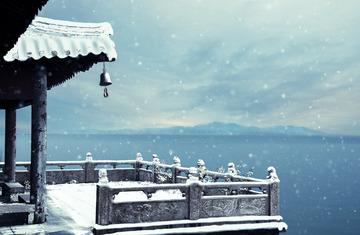 纷纷暮雪下辕门
